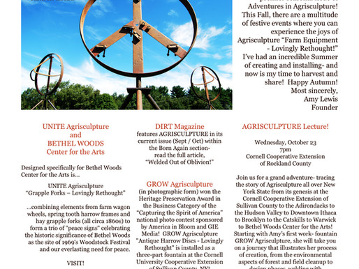 ADVENTURES IN AGRISCULPTURE 1