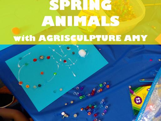 """SPRING ANIMALS WITH AGRISCULPTURE AMY"" WORKSHOP @ NEWBURGH JCC"