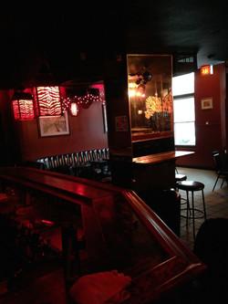 Zebra Lounge Interior