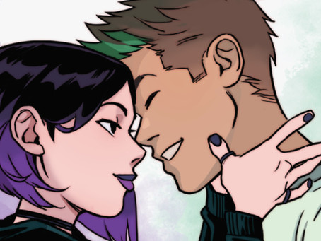 'Beast Boy Loves Raven' is a Titanic Teen Hug of a Book