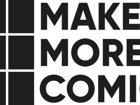 Chad Bilyeu nabs the 2021 Make More Comics Arts Grant