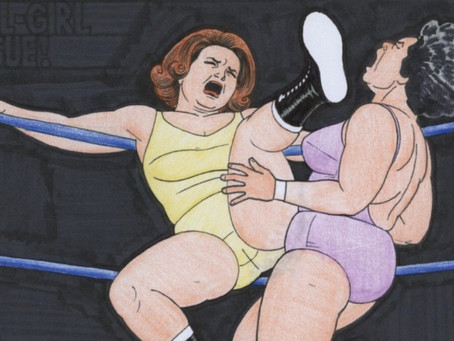 'Queen of the Ring' Offers Unfettered Access to Jaime Hernandez