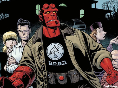 'Hellboy and the BPRD: The Secret of Chesbro House' is Monstrously Spooky