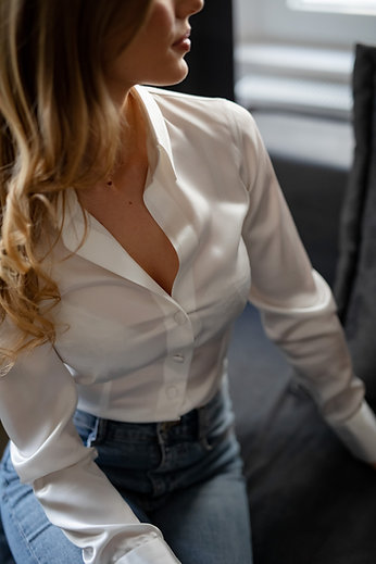 Ženska svilena srajca