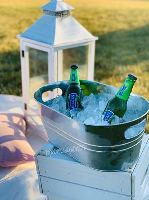 Tin Ice Bucket