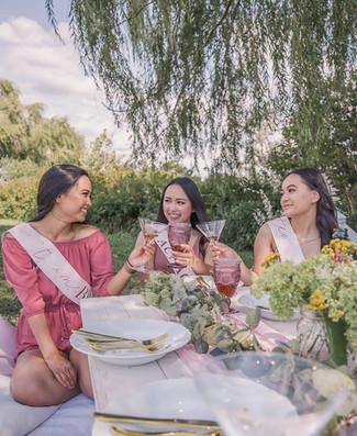 Cheers! Bridesmaids