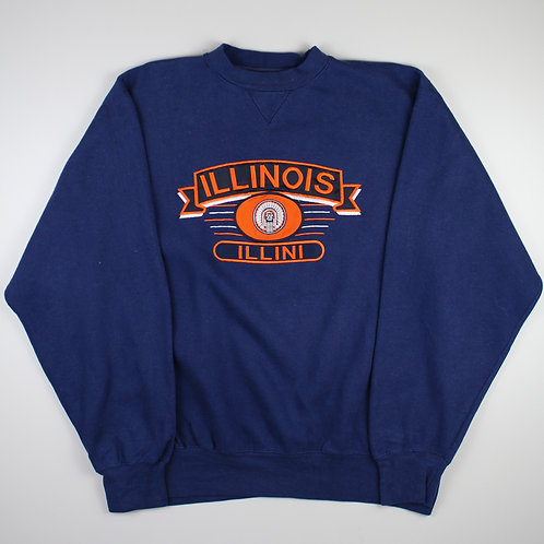 Vintage Navy 'Illinois' Sweatshirt
