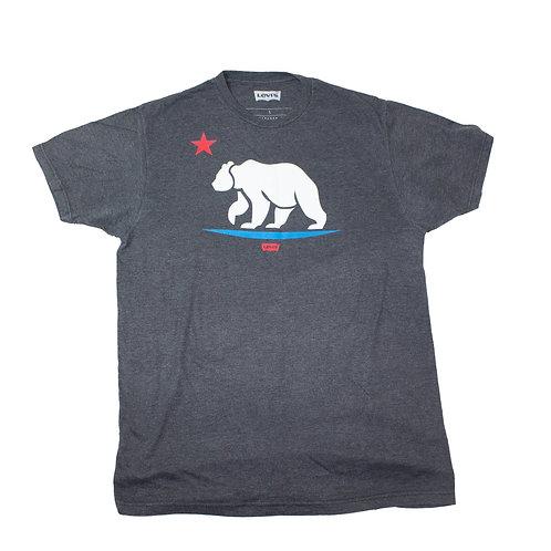 Levis Dark Grey California Bear T-shirt