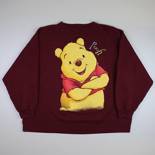 Disney Maroon 'Winnie The Pooh' Sweatshirt