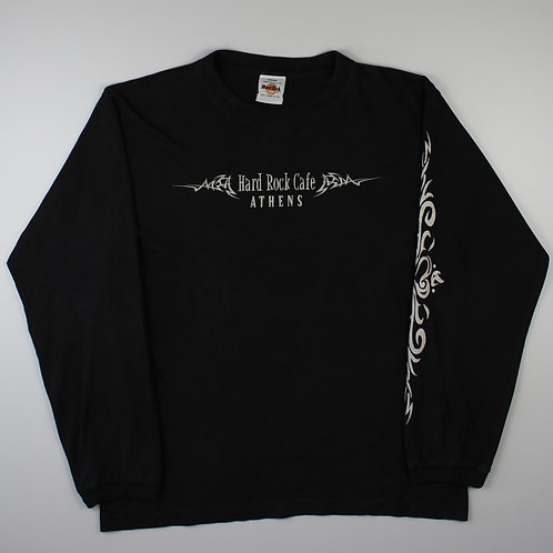 Hard Rock Cafe 'Athens' Black T-Shirt