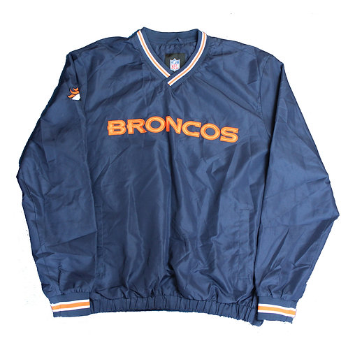 NFL Navy Broncos Tracksuit Top