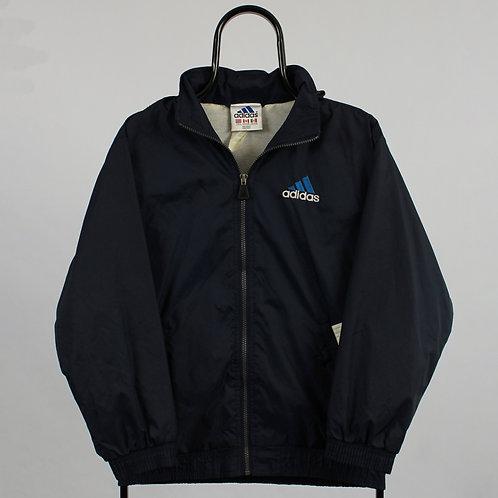 Adidas Navy Windbreaker Jacket
