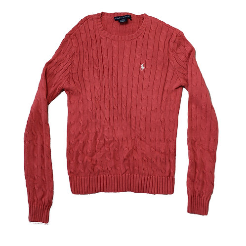 Ralph Lauren Knitted Pink Jumper