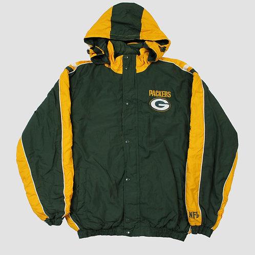NFL Green Bay Packers Green & Yellow Coat