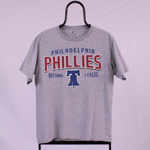 Vintage MLB Phillies Grey TShirt