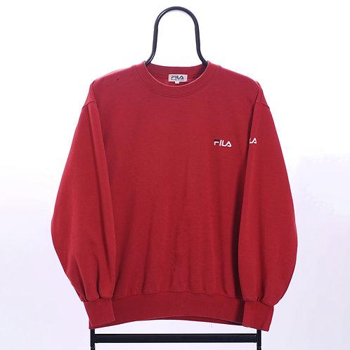 Fila Vintage Red Sweatshirt