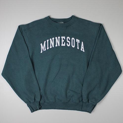 Vintage Teal 'Minnesota' Sweatshirt