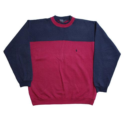 Ralph Lauren Pink & Navy Sweatshirt