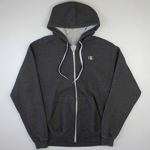 Champion Grey Zip Up Hoodie