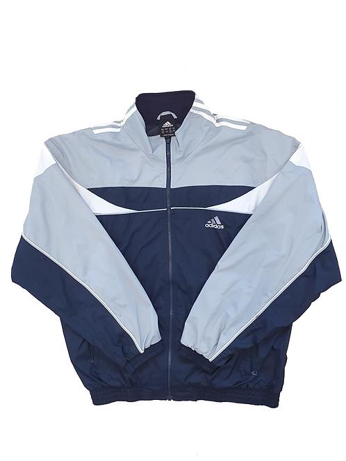 Adidas Grey White & Navy Jacket