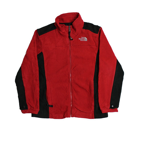 The North Face Red & Black Fleece