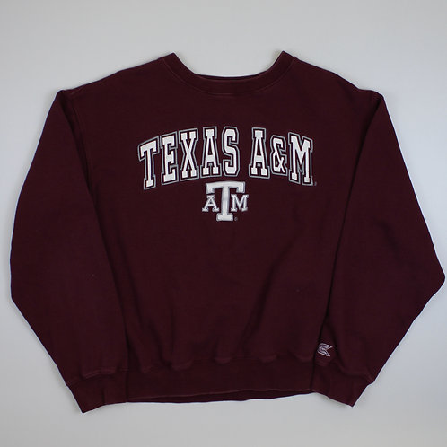 Vintage Maroon 'Texas' Sweatshirt