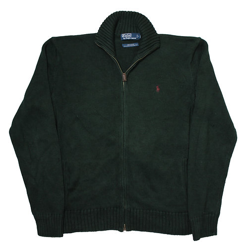 Ralph Lauren Green 1/4 Zip Sweater