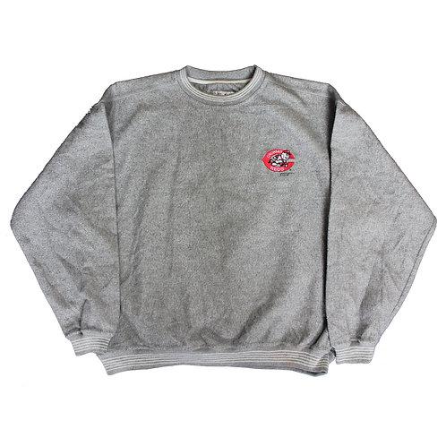 Vintage C Reds Grey Sweater