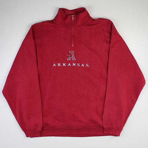 Vintage 'Arkansas' 1/4 Zip Sweatshirt