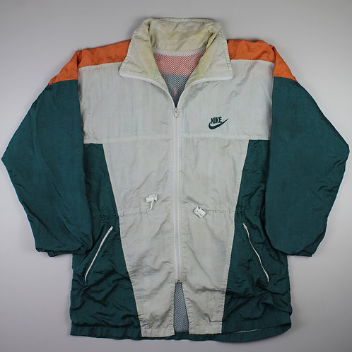 Nike Cream, Green & Orange Tracksuit Top