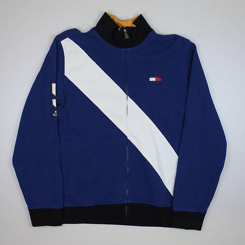 Tommy Hilfiger Zip Up Blue Sweater