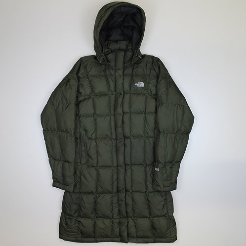 North Face Green 600 Puffer Coat