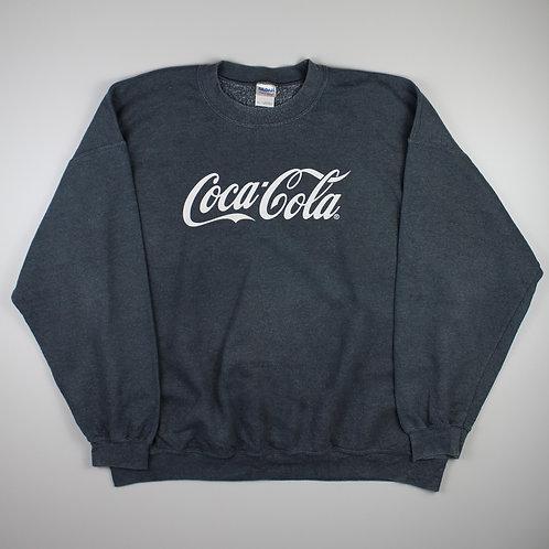 Vintage Grey 'Coca-Cola' Sweatshirt