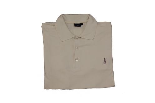 Ralph Lauren Cream Short Sleeved Polo