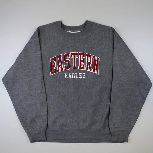 Vintage Grey 'Eastern Eagles' Sweatshirt