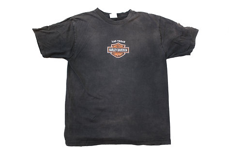Harley Davidson Inspired Black T-Shirt