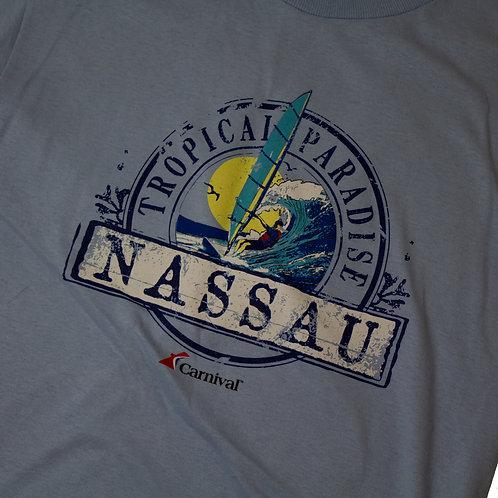 Vintage ' Tropical Paradise Nassau' T-shirt