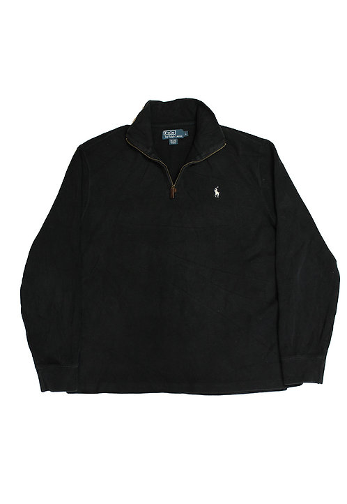 Ralph Lauren Black 1/4 Zip Sweatshirt