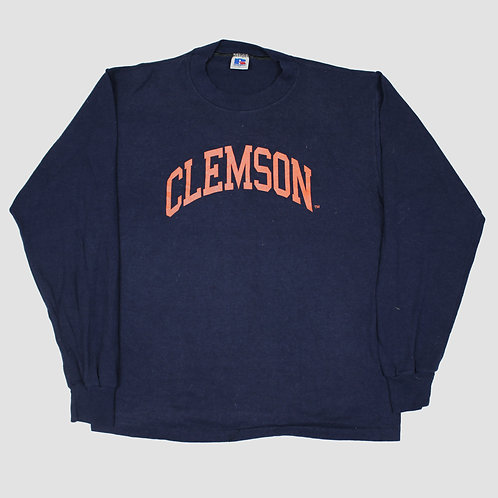 Russell Athletic 'Clemson' Navy Sweater