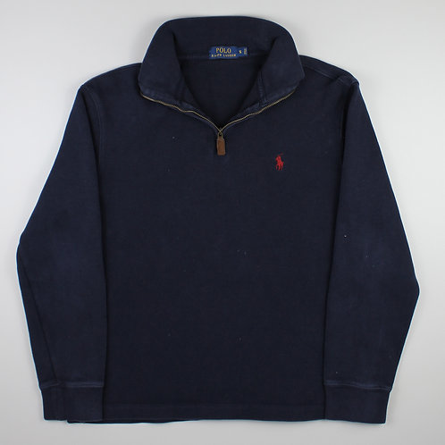 Ralph Lauren Navy 1/4 Zip Sweater