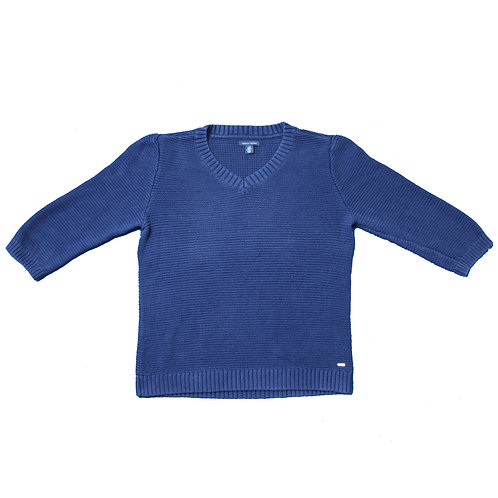 Tommy Hilfiger Navy Knitted Sweater