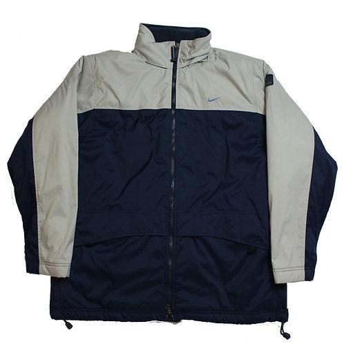 Nike Navy & Beige Coat