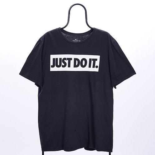 Nike Vintage Black Slogan TShirt