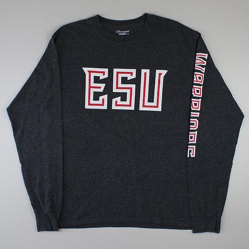 Champion Grey 'ESU' T-Shirt