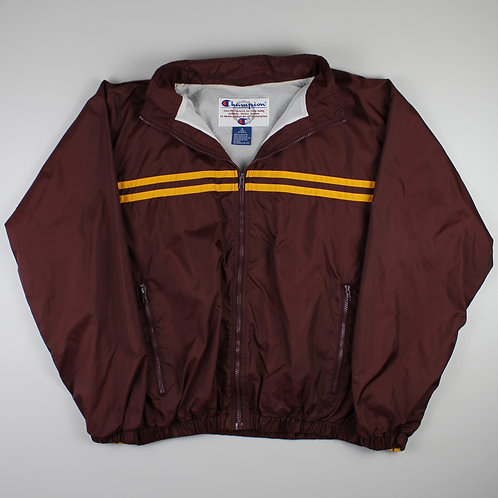 Champion Maroon Tracksuit Top