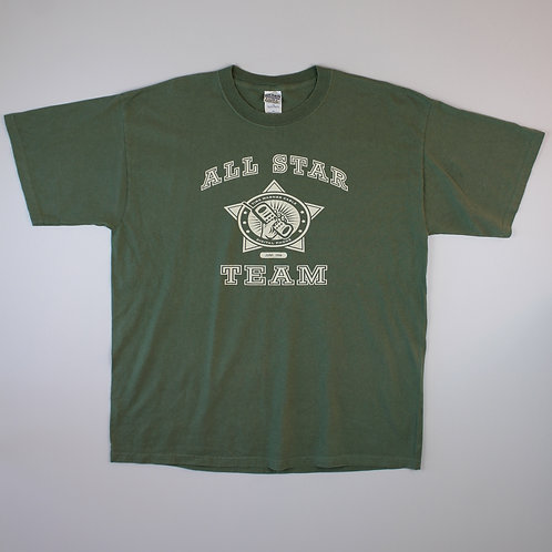 Vintage Khaki 'All Star' T-Shirt