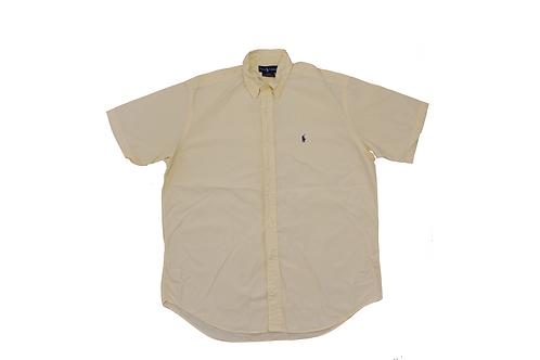 Ralph Lauren Yellow Short Sleeved Shirt