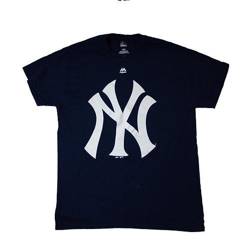 Vintage ' NYY' Navy T-shirt
