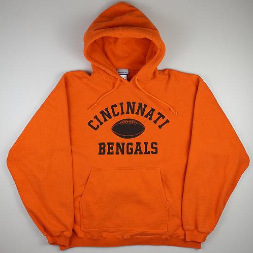 Reebok 'Cincinnati Bengals' Orange Hoodie