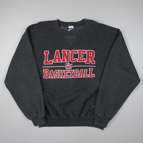 Vintage Russel Athletic Grey Lancer Basketball Sweatshirt